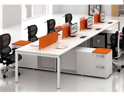 长沙8人屏风办公桌电脑卡座员工桌