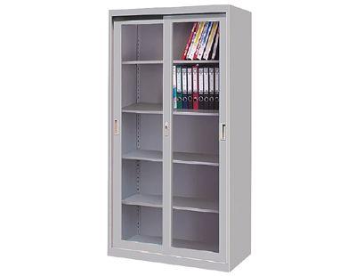 长沙通玻移门柜文件柜