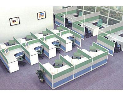 衡阳办公家具厂家定制屏风工作位价格优惠株洲屏风电脑桌卡座