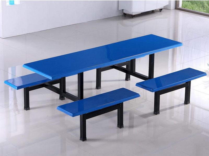湘潭连体餐桌椅