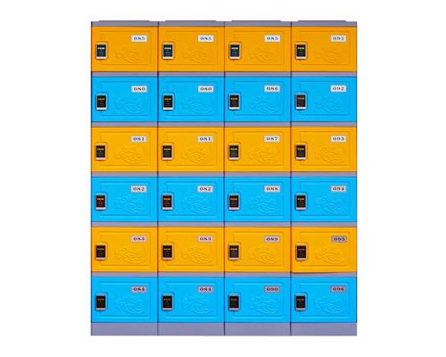 长沙五层ABS全塑料更衣柜学生储物柜书包柜